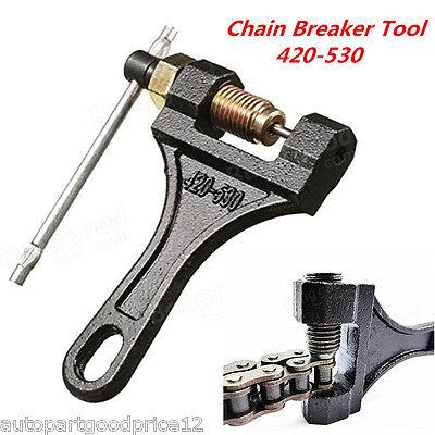 Motorcycle ATV Roller Chain Splitter Cutter Breaker Tool 420 428 520 525 528 530