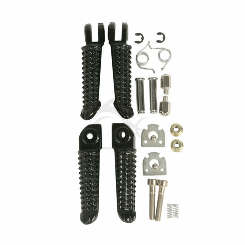 2 Pair Footrests Pegs Pedals For Yamaha YZF R1 1992-2019