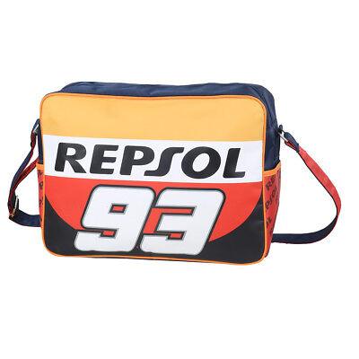 Repsol 93 Große Umhängetasche PC-Tasche Schultertasche Sporttasche ca. 40cm
