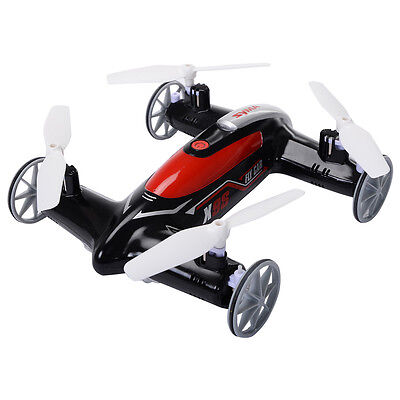 Syma X9S 2.4G 4CH 6-Axis RC Flying Car Remote Control Quadcopter 3D Drone