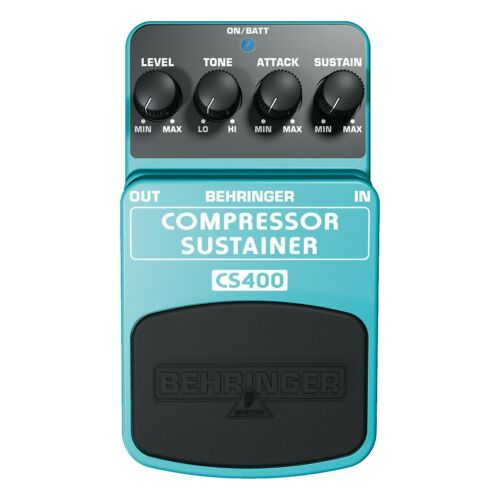NEW Behringer CS400 Compressor Sustainer Effects Pedal Free USA Shipping