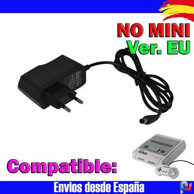 Adaptador AC SNES enchufe para consola SUPER NINTENDO SNES compatible Ver. EU
