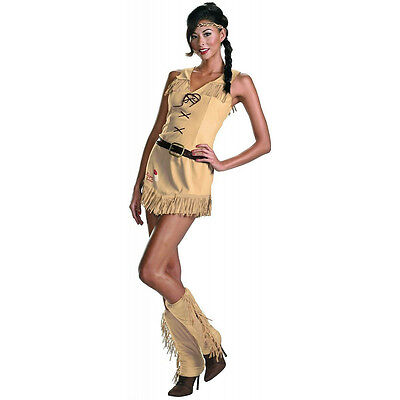 The Lone Ranger Sassy Tonto Sexy Women's Native Indian Adult Costume Large (The Lone Ranger Tonto Kostüm)