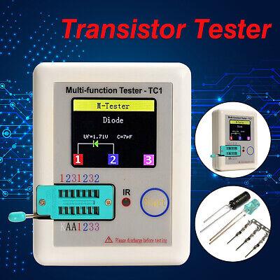 Transistor Tester Tft Diode Triode Capacitance Meter Lcr-tc1 Esr Npn Pnp Mosfet