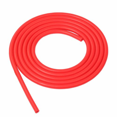 "RED HI-PERFORMANCE TURBO RACING CUSTOM TUBING SILICONE VACUUM HOSE 5//16"" 8MM"