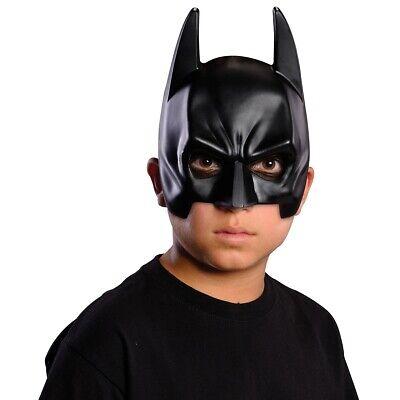 Kids Batman Mask Superhero Costume Halloween Fancy Dress