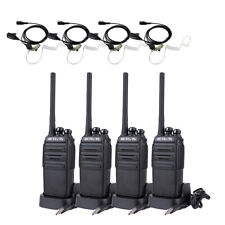 4PCS Walkie Talkie Retevis RT24 PMR446 1100mAh 0.5W 16CH+4PCS Earphone