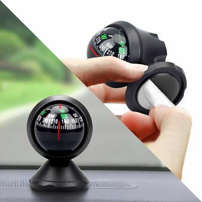 Car Mini Adsorption Compass Direction Dashboard Guide Ball Vehicle AccessorWCYB