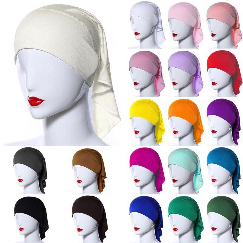 Women Turban Head Scarf Chemo Hat Hijab Headwear Cancer Cap