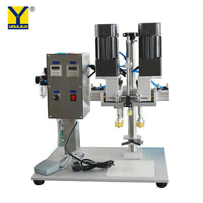 Semi-automatic Bottle Screw Capping Machine Yl-p Spray Head Capping Machine