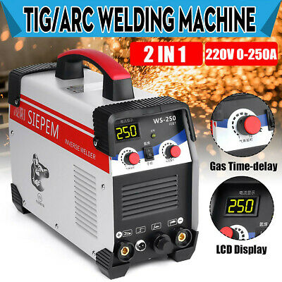 2 In 1 7000w Tig Stickarc Inverter Welding Machine 250a Tigmma Welder 220v