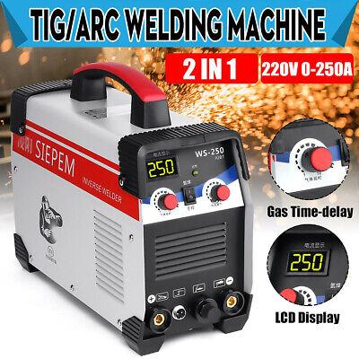 2 In 1 7000w Tig Stickarc Inverter Welding Machine 250a Tigmma Welder 220v