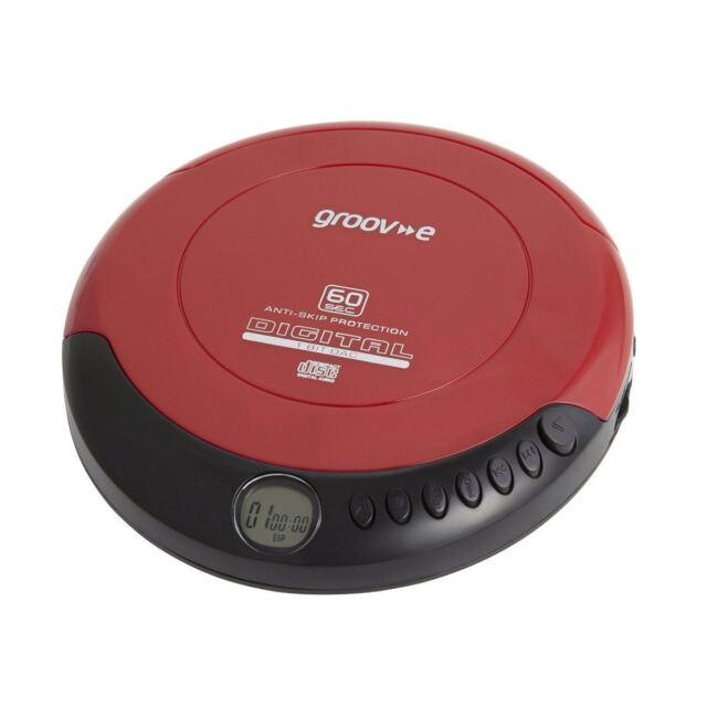 Groov-e GVPS110 Digital Retro Series Portable Personal CD Player Walkman New