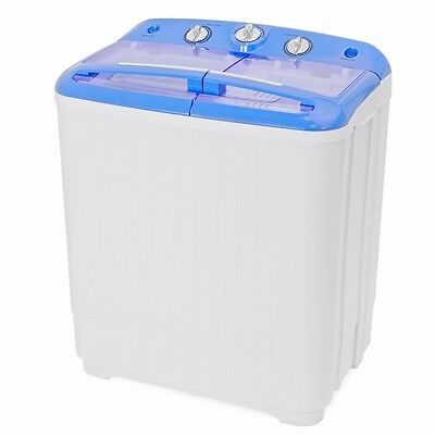 Handy Small RV Dorm Cycle Compact 9lbs Washing Machine Wash Spin Dry Laundry