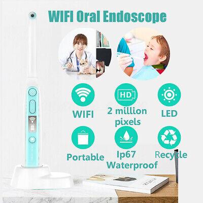 Oral Dental Wifi Hd Intraoral Endoscope Wireless Dental Camera 8 Leds Ip67
