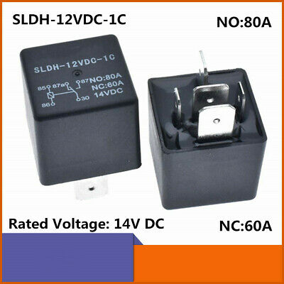 Sldh-12vdc-1c High Power Relay No 80a Nc 60a 5 Pins Automotive Relay