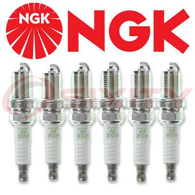 6 pcs - NGK V-Power Spark Plugs #2756 - Premium OEM Set BKR6E11