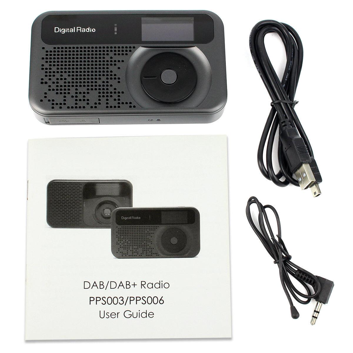 digital radio mit lautsprecher mp3 player klein tragbar. Black Bedroom Furniture Sets. Home Design Ideas