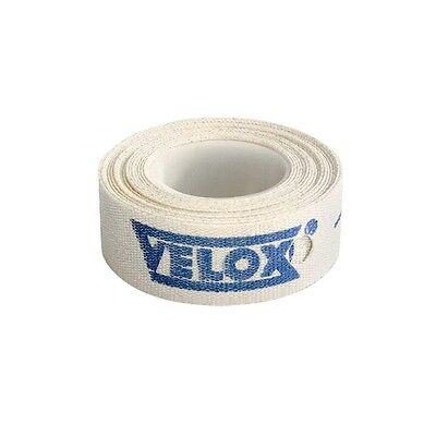 Velox Bicycle Rim Tape 19 mm-Cotton Cloth-700c-Bike Wheel Strip-New-1 Roll