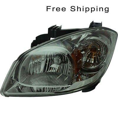 Halogen Head Lamp Assembly LH Side Fits Chevrolet Cobalt Pontiac G5 GM2502282
