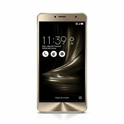 """NEW ASUS ZenFone 3 Deluxe 5.5"""" 4GB 64GB Dual Sim Cell Phone Smart ZS550KL"""