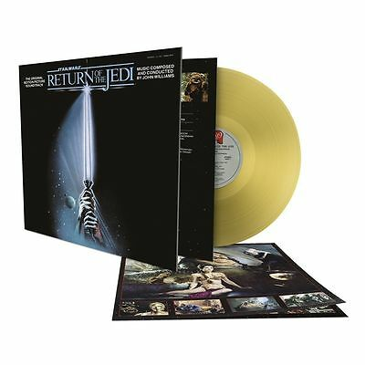 Star Wars 'Return Of The Jedi' 180g GOLD COLOURED Vinyl LP - NEW AND SEALED