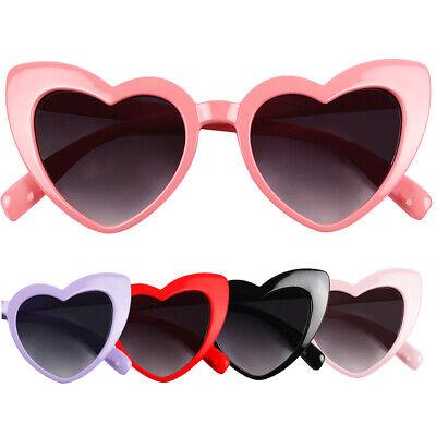 ShadyVEU - Cute Little Girls Toddlers Baby Heart Shaped Oversize Love (Cute Teen Sunglasses)