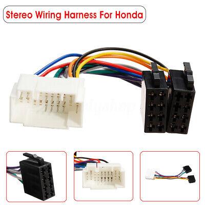 Car Stereo Radio ISO Wiring Harness Loom Adaptor Connector For Honda Suzuki !
