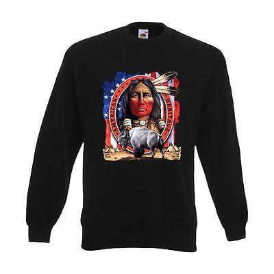 Sweatshirt American Heritage, Indianer Funshirt S-6XL (AIM00124) - American Heritage Sweatshirt