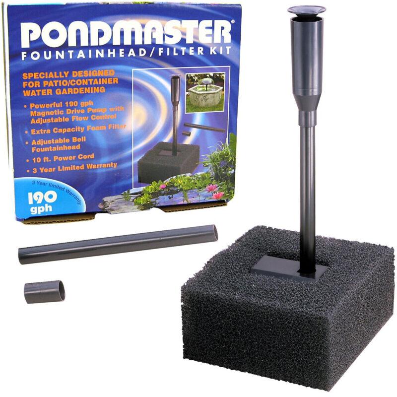 Pondmaster Fountainhead and Filter Kit