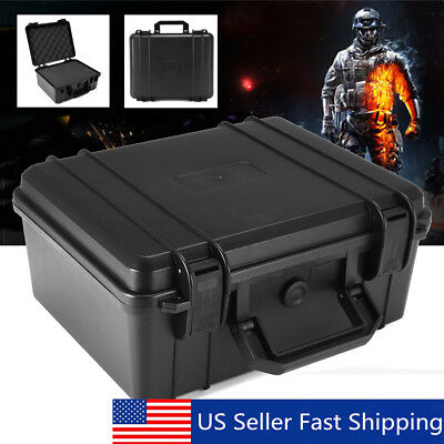 Stackable Waterproof Hard Carry Case Tool Box Sponge Portable Storage Organizer