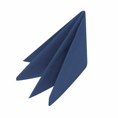 100 x Navy Blue Napkins 40cm 2ply Serviettes Tableware Dinning Catering