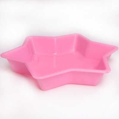 LARGE STAR JELLY MOULD Flexible Silicone Gelatin Gummy Sweet Mould Giant Tin Pan