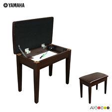 APKB-300 Keyboard Piano Bench with Music Storage (Walnut Brown)