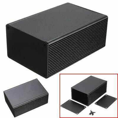 Aluminum Black Enclosure Enclosure Instrument Case Electronic Project Box New