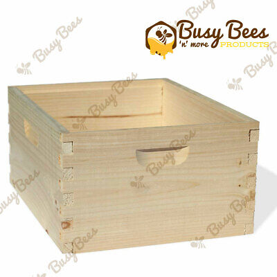 Langstroth Bee Hive 10 Frame Deep Box Amish Made In Usa No Frames Included
