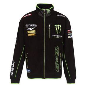 Genuine Monster Energy Yamaha tech 3 Fleece Jacket   Medium