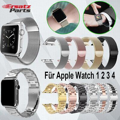 Serie 2 Ersatz (Edelstahl Loop Armband Ersatzarmband Für Apple Watch Serie 4/3/2/1 40/44/38/42mm)