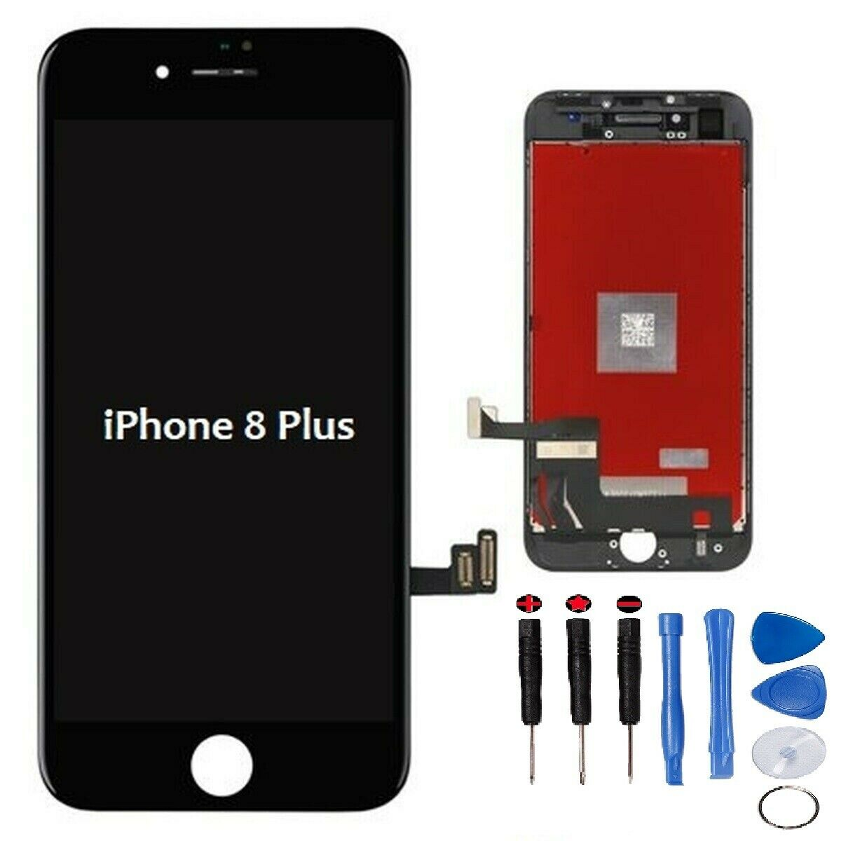 online store 399fb e8745 Details about For iPhone 8 plus 8P LCD Screen Replacement Digitizer Retina  Display Black/White