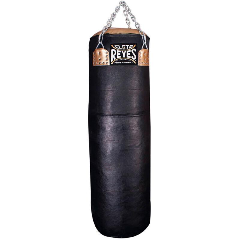 Cleto Reyes Unfilled Leather Extra Heavy Punching Bag - Large - Black