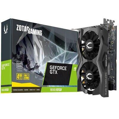 ZOTAC GAMING GeForce GTX 1650 SUPER Twin Fan 4GB GDDR6 Grafikkarte -