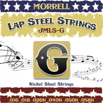 Morrell JMLS-G Premium Lap Steel Guitar Strings G-Tuning -