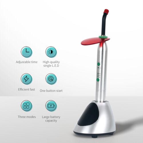 Woodpecker Style Intelligent Wireless Dental LED Curing Light Lamp 2700mw