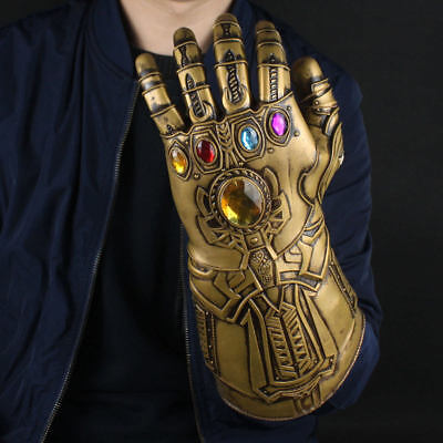 UK Thanos Infinity Gauntlet Glove Cosplay Infinity War The Avengers Prop Gifts