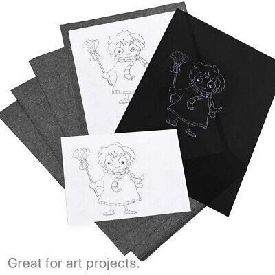 Carbon Paper Transfer Copy Black 100 Sheets Graphite Tracing A4 Wood Canvas Art
