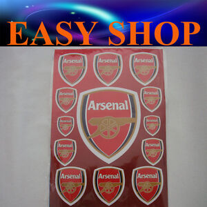 Arsenal-Gunner-Football-Club-Sticker-Decal-Car-Wall-Caravan-Motorcycle-Bike-Quad