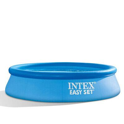 INTEX 28106NP EasySet Quick-Up-Pool Swimmingpool Schwimmbecken 244x61cm rund