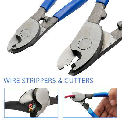 Pro Cable Wire Cutters Carbon Steel Cutter Copper Electrician Fencing Hand Tool