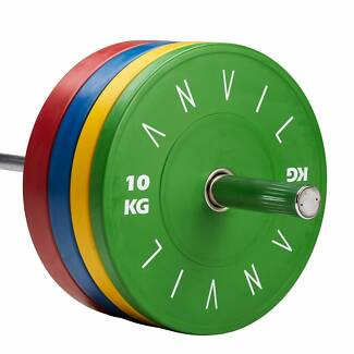Olympic Gym Premium Bumper Weight Plates - Brand New $4.45 per kg