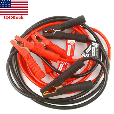 Jumper Cables Heavy Duty 20ft 4 Gauge 900 AMP with Safety Gloves and Travel (Jumper Cable Safety)